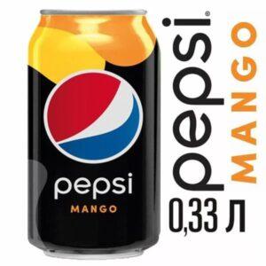 Газированный напиток Pepsi Mango 0,33 л