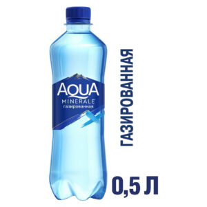 Вода Aqua Minerale, газированная, питьевая, 500 мл